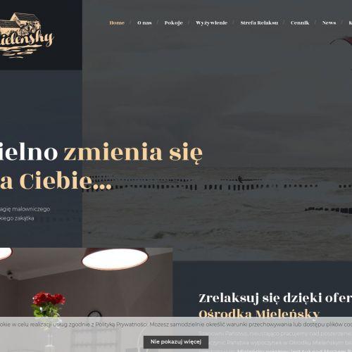 Ośrodek wypoczynkowy z sauną - Mielno