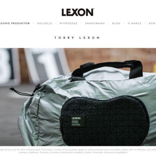 Markowy plecak z nadrukiem logo