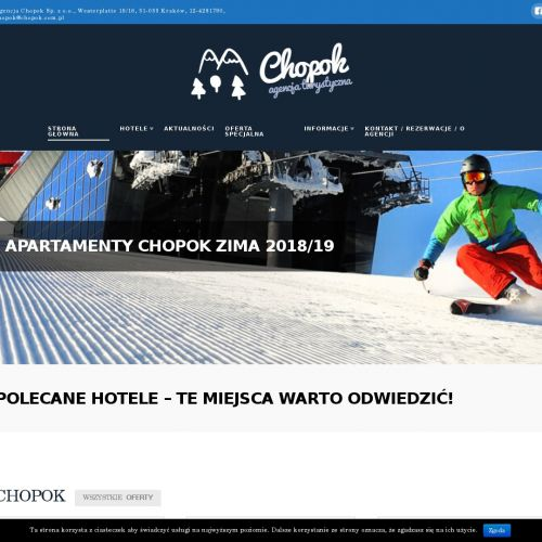 Hotele - Chopok