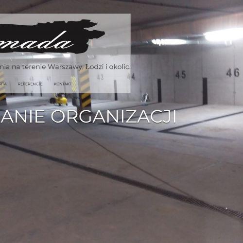 Renowacja posadzek żywicznych - Warszawa