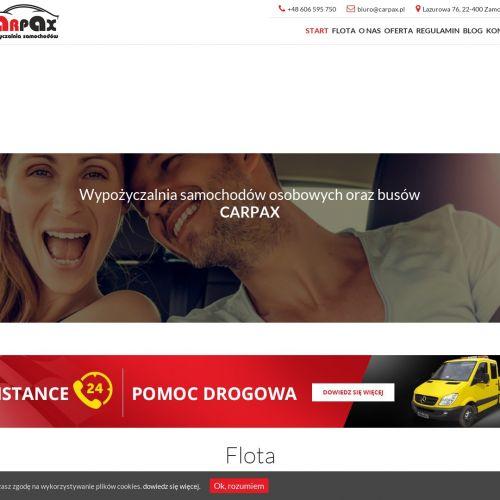 Tania wypożyczalnia aut - Zamość