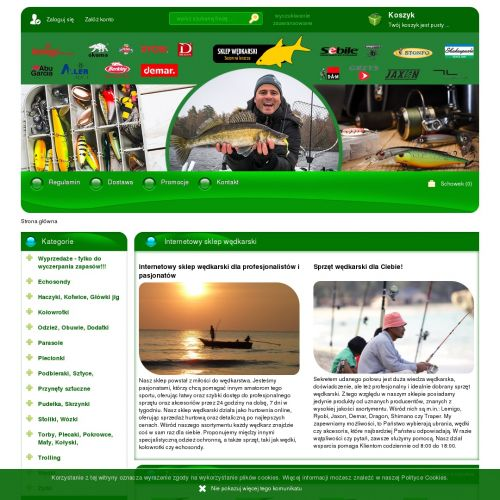 Sklep wędkarski online