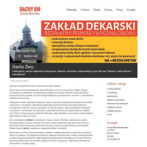 Firma budowlana w - Żarach