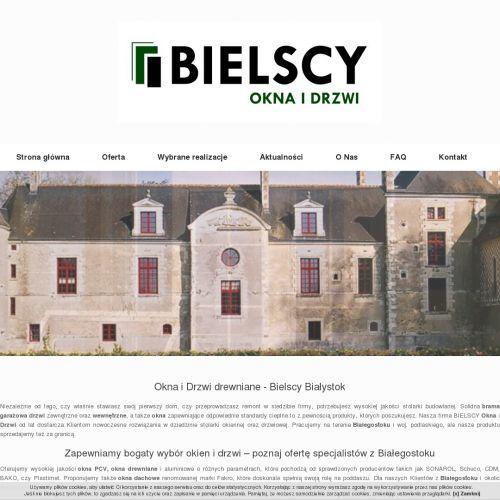 Okna drewniane - Białystok