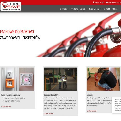 Konserwacji systemów sygnalizacji pożarów
