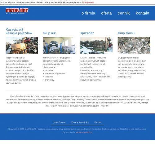Skup pojazdów ciężarowych - Nowy Targ