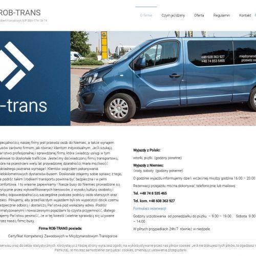 Przewóz i transport osób