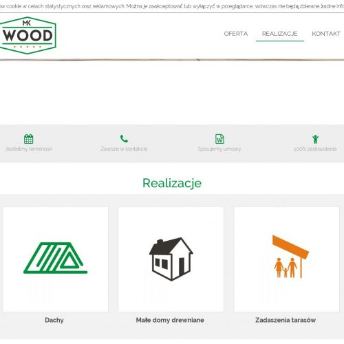 Budowa drewnianych domków letniskowych