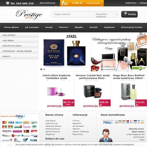 Oryginalne perfumy