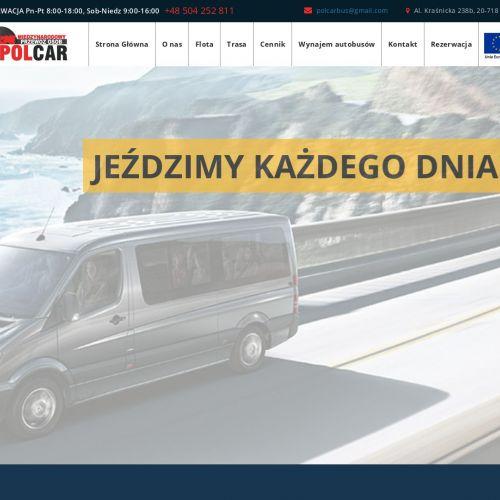 Tanie przewozy osób busami do Niemiec