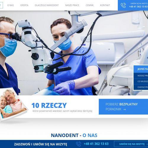 Protetyka stomatologiczna w Kielcach
