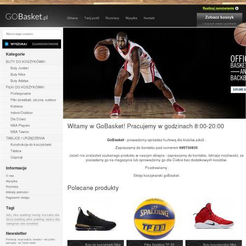 Standardowe i uchylne obręcze koszykarskie