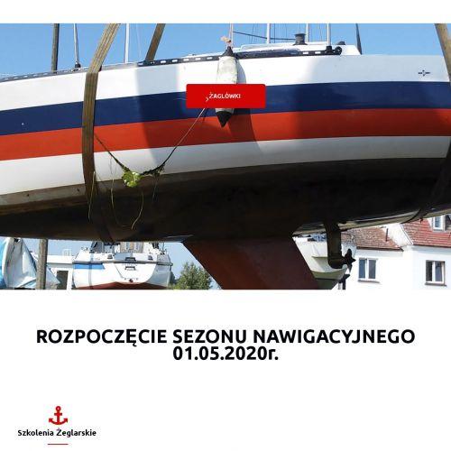 Szkółka żeglarska i przystań na Śląsku