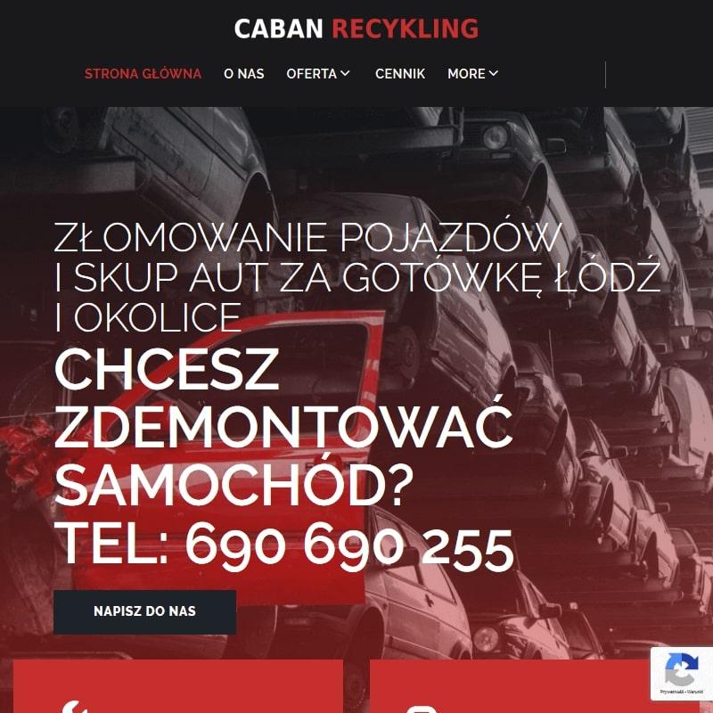 Stacja demontażu pojazdów w Łodzi