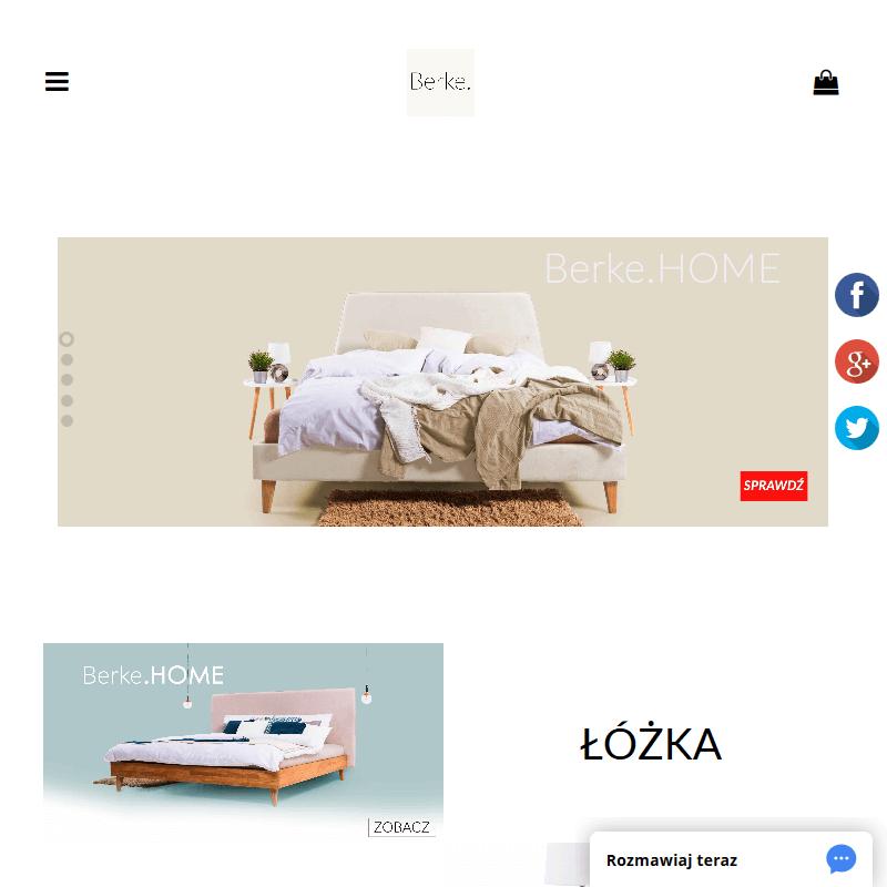 Designerskie łóżko tapicerowane do sypialni