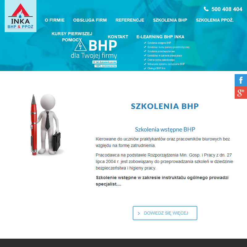 Szkolenia wstępne z BHP