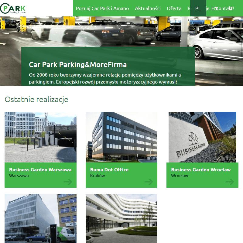Systemy parkingowe - Gdańsk