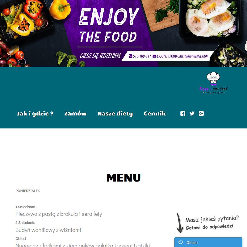 Catering wegetariański - Poznań