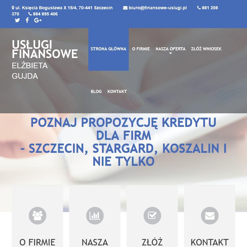 Pożyczka gotówkowa i kredyt dla firm - Szczecin