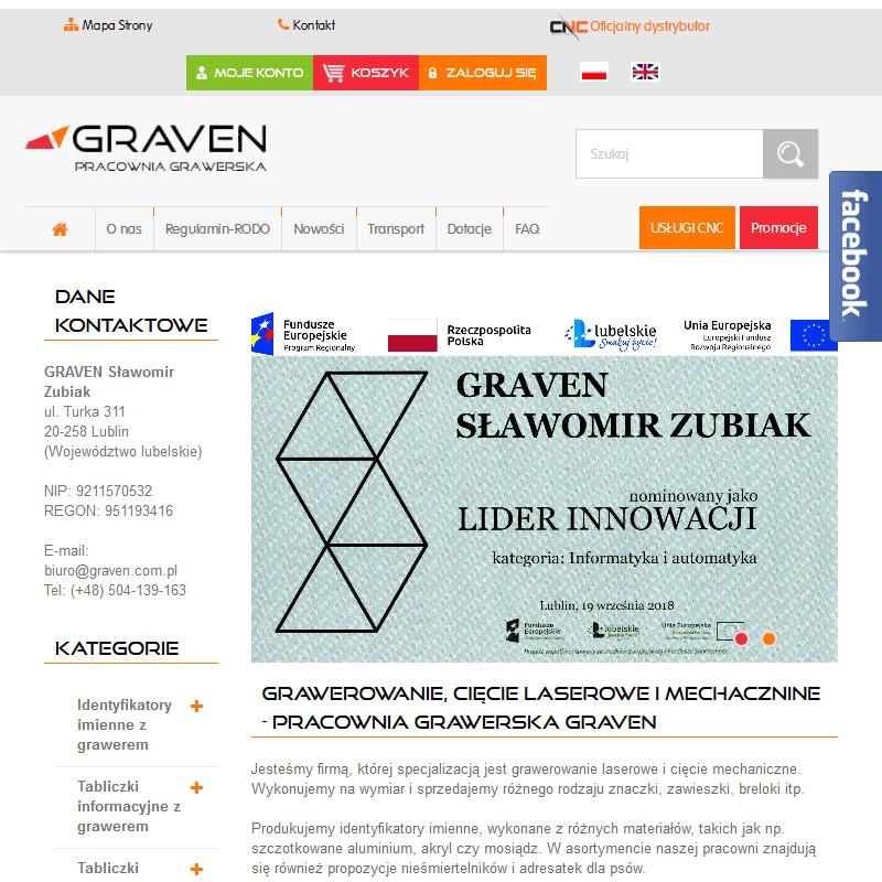 Grawerowanie laserowe - Lublin
