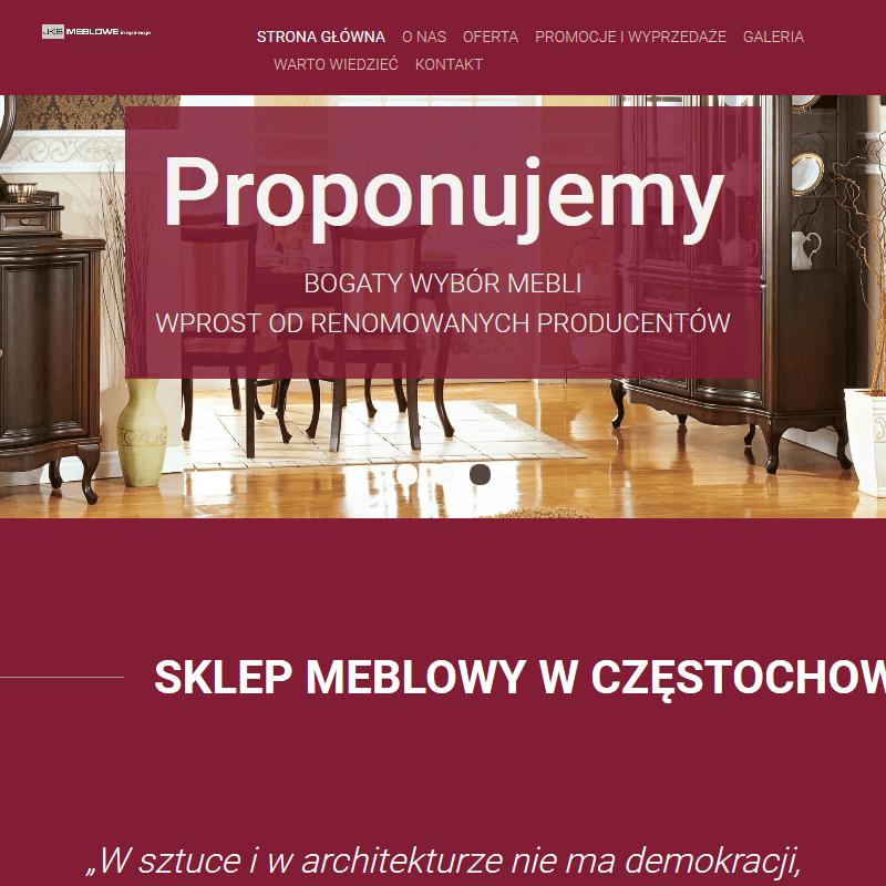 Sklep meblowy - Częstochowa