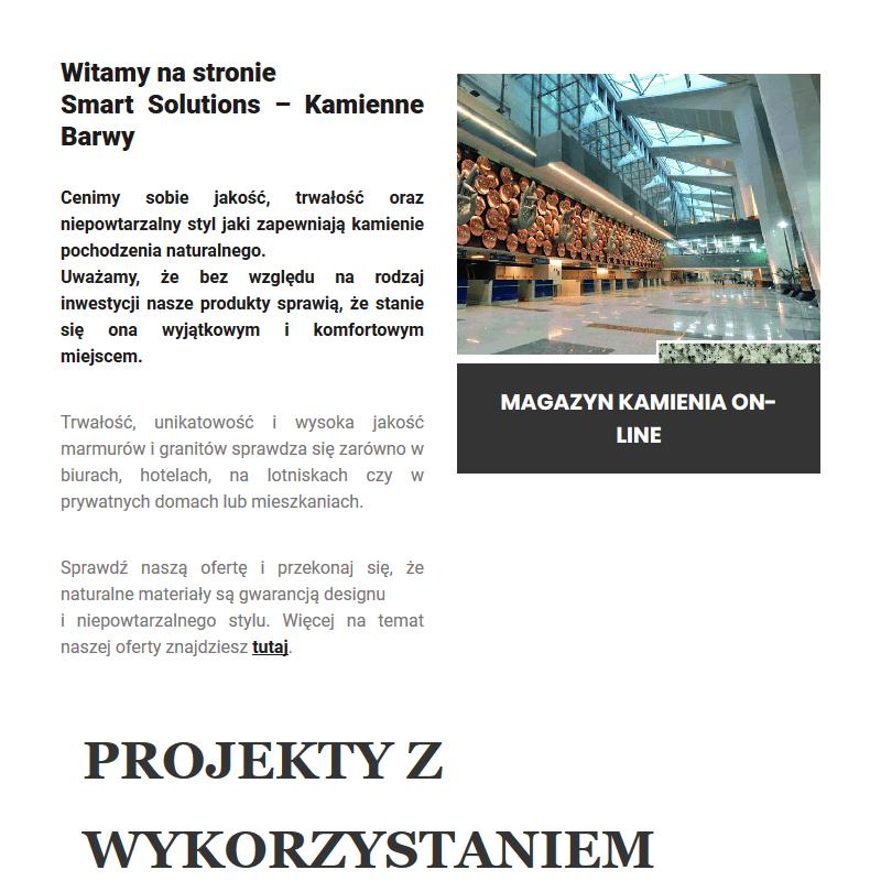 Trawertyn architektoniczny - Warszawa
