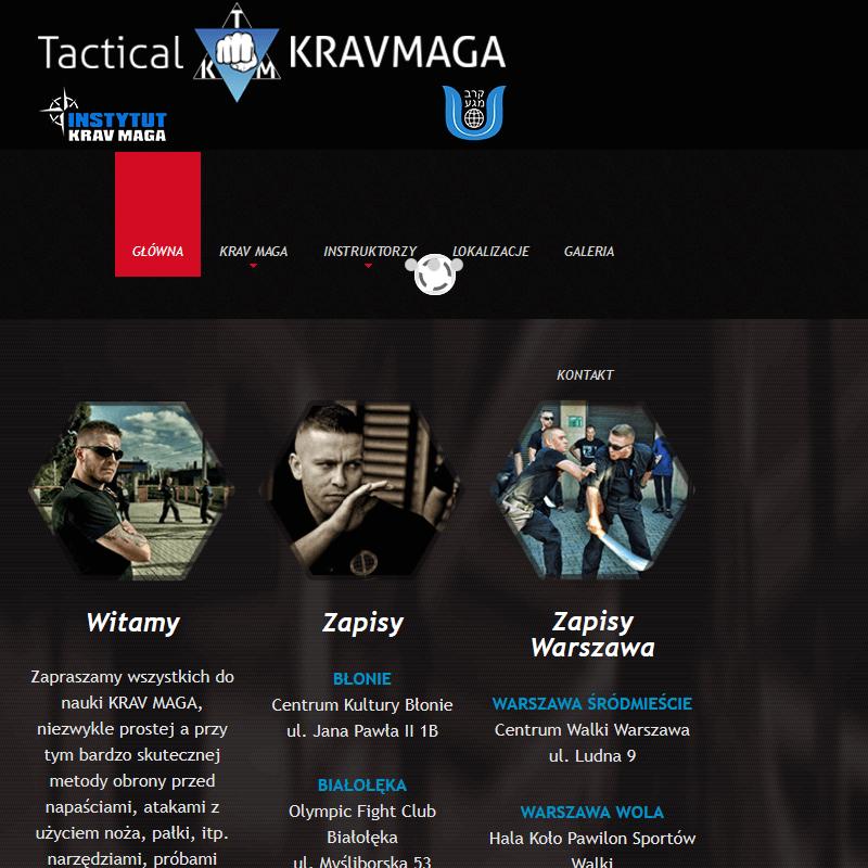 Krav Maga dla początkujących - Warszawa
