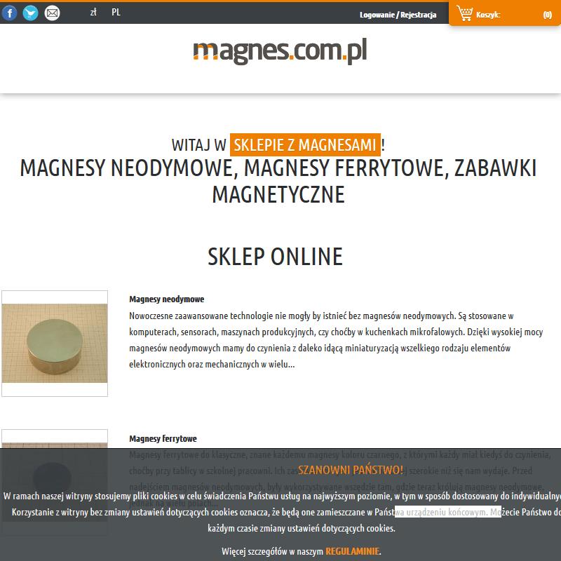 Magnes neodymowy - Wrocław