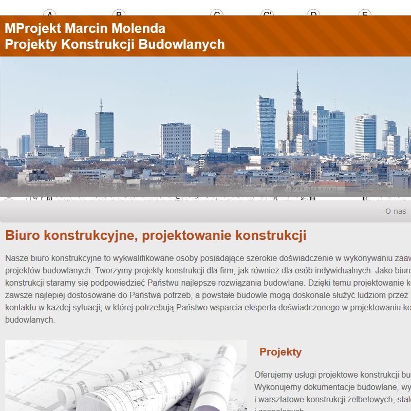 Biuro projektów budowlanych w Warszawie
