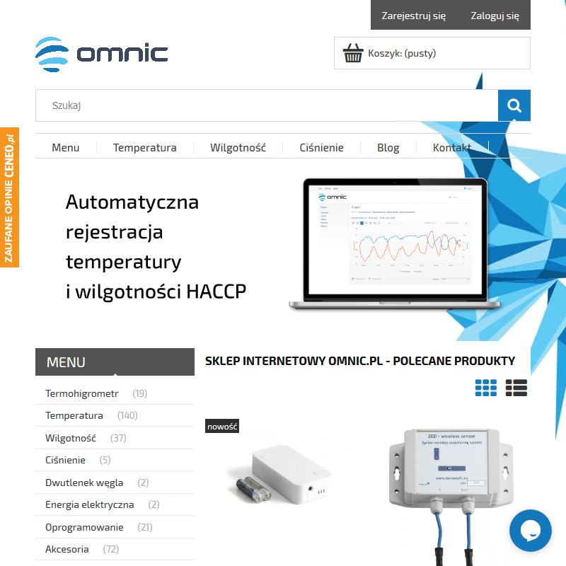 Kanałowy system rejestracji temperatury