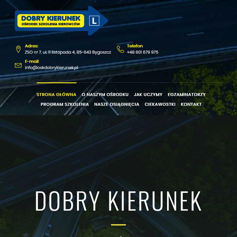 Szkoła nauki jazdy w Bydgoszczy