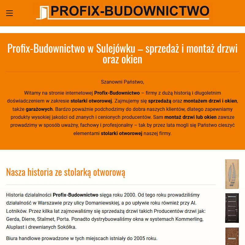Drzwi od ręki z montażem - Warszawa