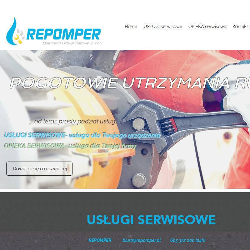 Pomiar wydajności pomp - Warszawa