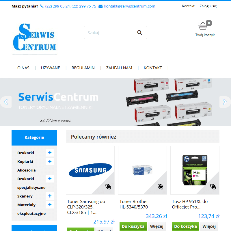 Naprawa drukarek HP - Warszawa