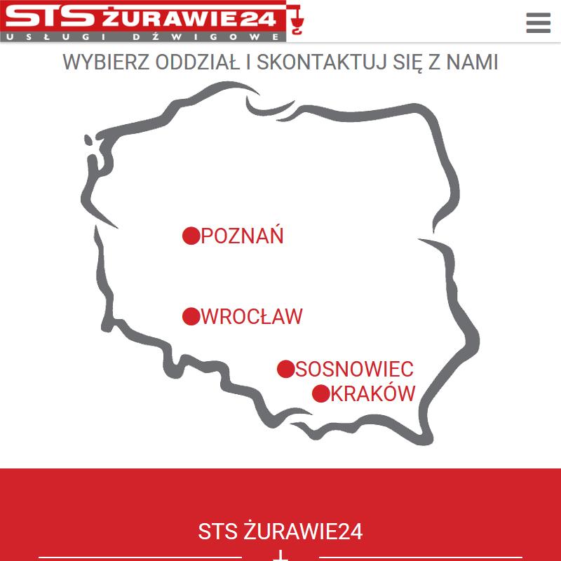 Usługi dźwigiem - Kraków