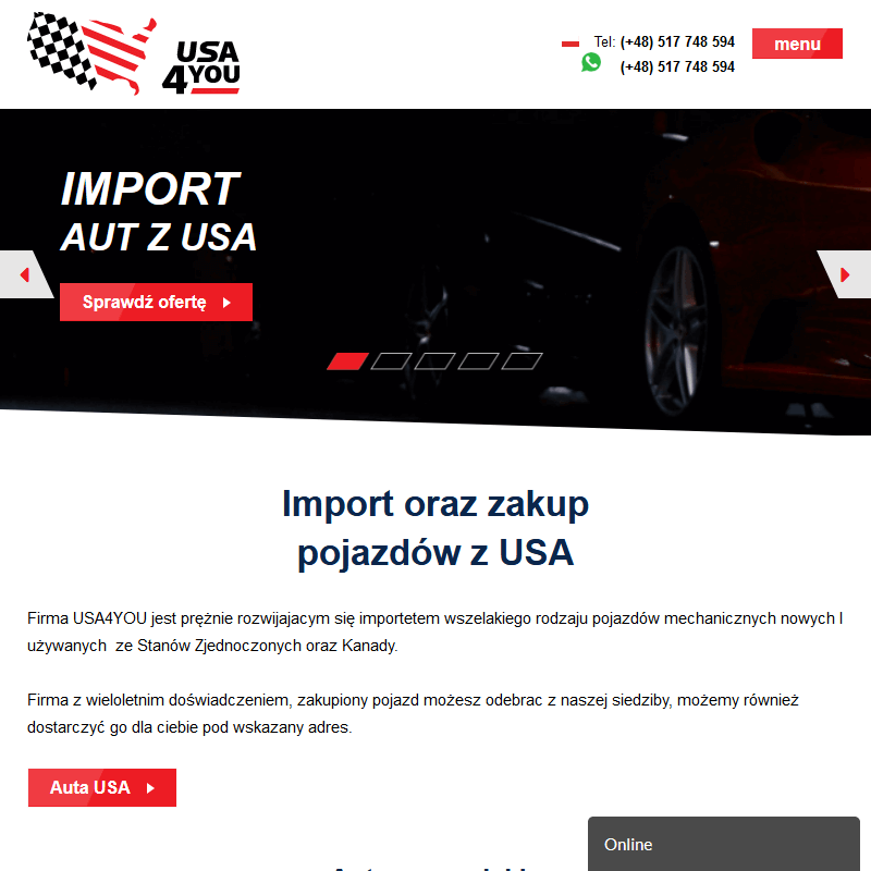 Import motocykli z USA