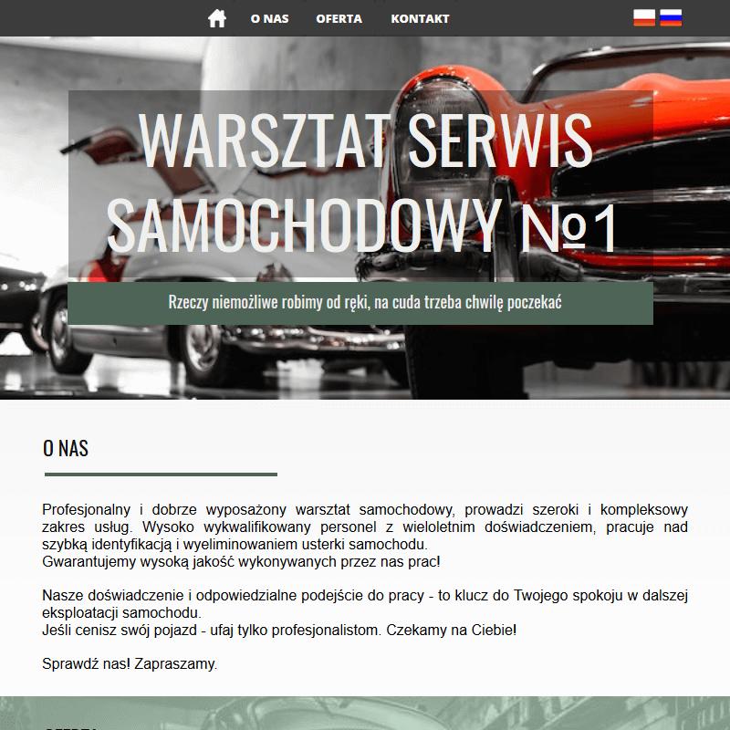Serwis samochodowy - Warszawa Sulejówek