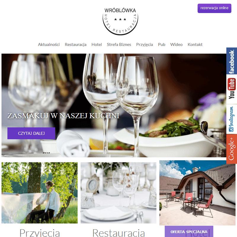 Hotel z restauracją w Bielsku-Białej
